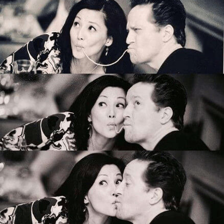Tamlyn Tomita Romantic Moments With Boyfriend