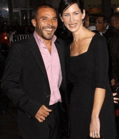 Michael Irby With Wife