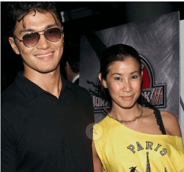 _With His Ex-Girlfriend Lisa Ling