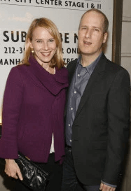 With Her Husband Eric Slovin
