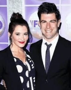 His parents Max Greenfield and Tess Sanchez