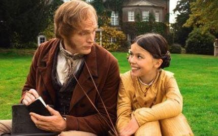 Martha as Anne with Paul Bettany as Charles Darwin in movie Creation.