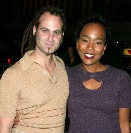 Sonja Sohn with her former husband Adam Plack