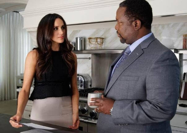 Wendell Pierce with Duchess Megan Markle