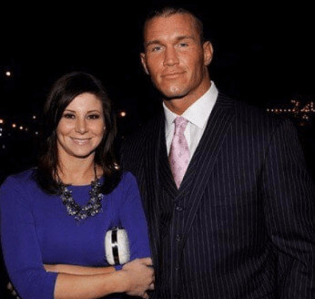 Samantha Speno with her ex-husband Randy Orton