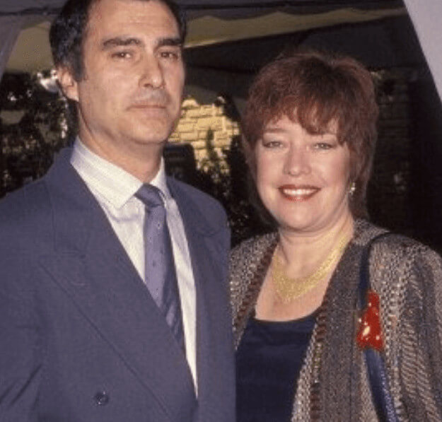 Tony Campisi With Ex Wife Kathy Bates