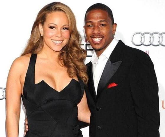 Moroccan Scott Cannon's parents, Mariah Carey and Nick Cannon.
