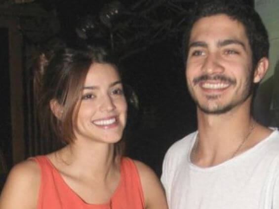 Chino Darin with her ex-girlfriend Calu Rivero.