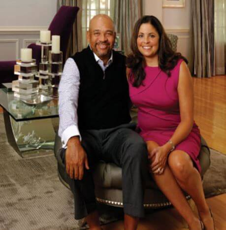 Sheryl Wilbon with husband, Michael Wilbon