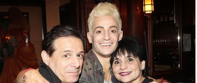 Joan Grande with her former husband Victor Marchione and son Frankie Grande
