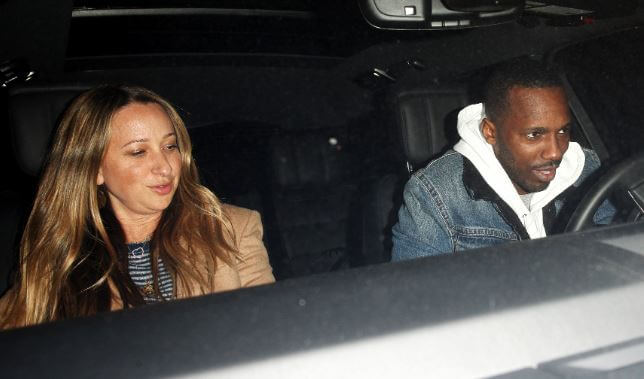 Ruby Sweetheart Maguire's mother, Jennifer Meyer with her boyfriend, Rich Paul.
