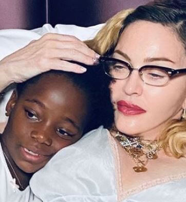 Estere Ciccone with her mother, Madonna.