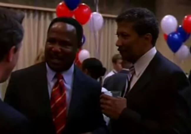 Isiah Whitlock Jr. in The Wire.