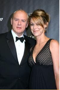 Tracey Dale with her husband, Alan Dale