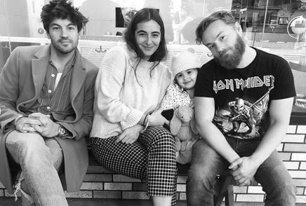 Marlowe Masterson with her family.