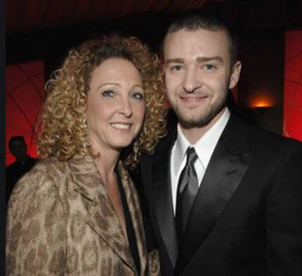 Randy Timberlake's former wife Lynn Bomar and their son Justin Timberlake