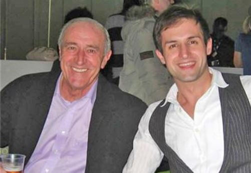 Sue Goodman's husband, Len Goodman with his son, James William Goodman.