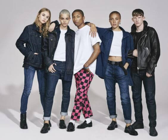 Connor Newall in the G-Star's diverse campaign