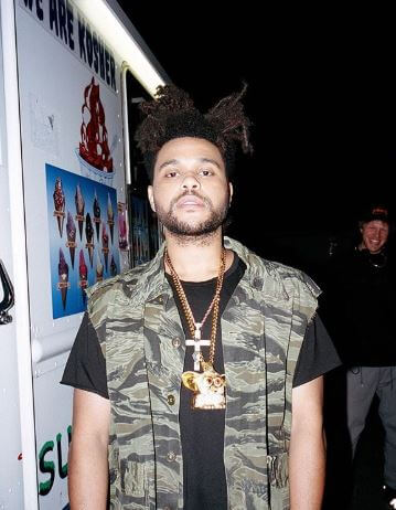 Samra Tesfaye's son, The Weeknd.