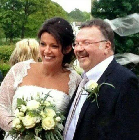 Anne Twist with her late husband Robin Twist on their wedding day.