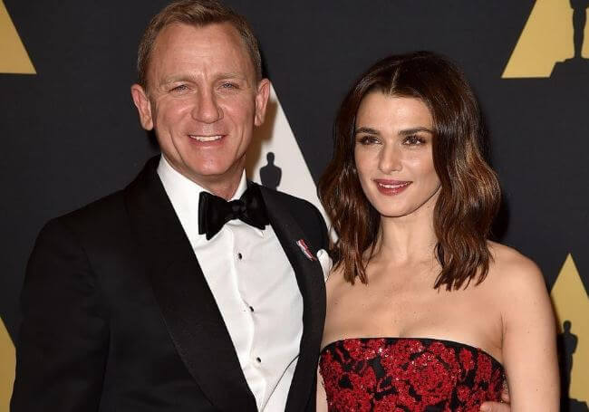 Satsuki Mitchell's ex-fiancé, Daniel Craig with his wife, Rachel Weisz.