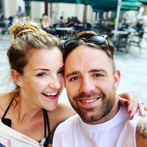 Helen Skelton with her husband, Richie Myler.