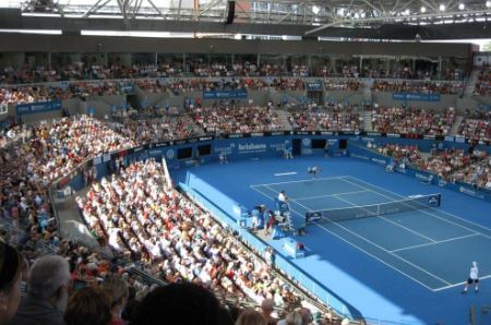 Queensland Tennis Centre in Brisbane, Australia