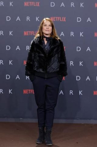 Karoline Eichhorn at the premiere of 'Dark'.