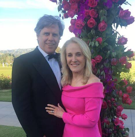 Tracy Austin with her husband, Scott Holt.
