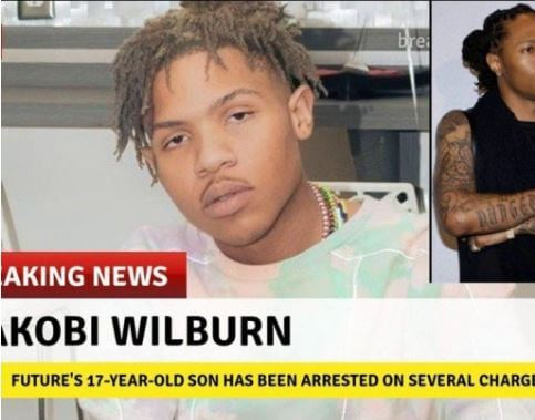 News of Jakobi Wilburn being arrested.