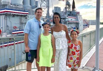 Family holiday at Norfolk, Virginia