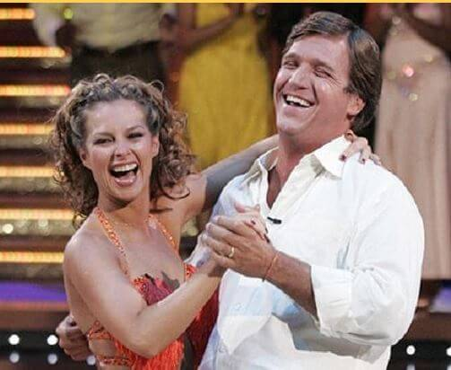 Tucker in Dancing with star show