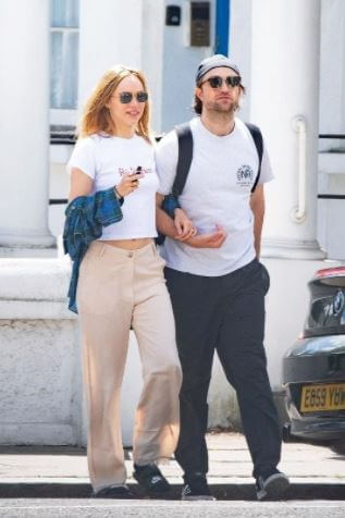 Victoria Pattinson's Brother, Robert Pattinson with his girlfriend, Suki Waterhouse.