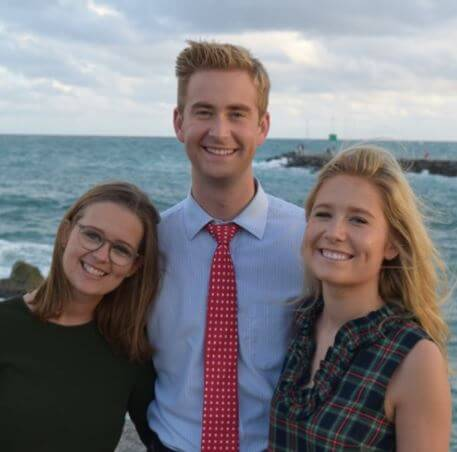 Kathy Gerrity's children Sally Doocy, Peter Doocy, and Mary Doocy.