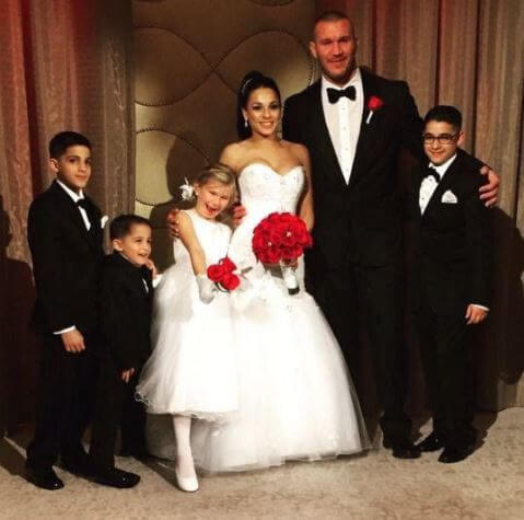 Alanna Marie Orton, in her father, Randy Orton's wedding.