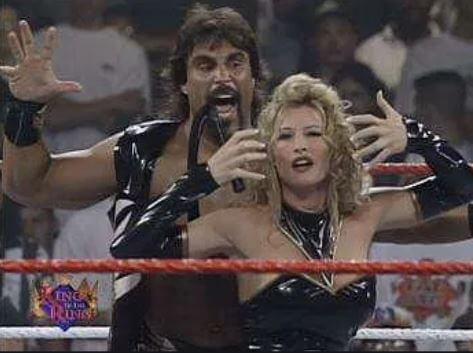 Mariah Richardson's mother, Sable, and her second husband, Marc Mero.
