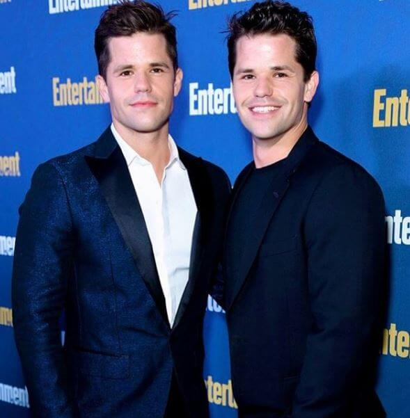Robert Martensen's son, Max Carver and Charlie Carver.