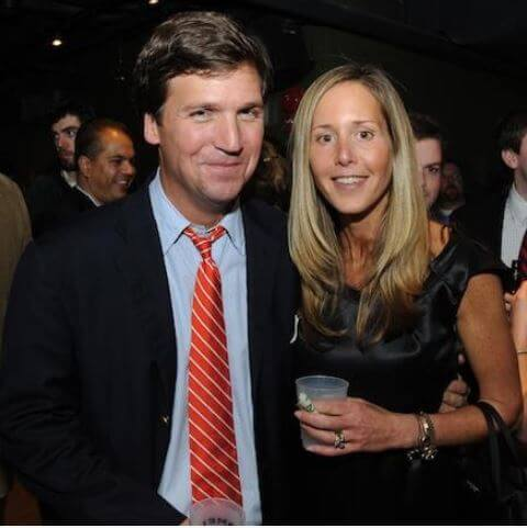 Hopie Carlson's parents, Tucker Carlson and Susan Andrews.