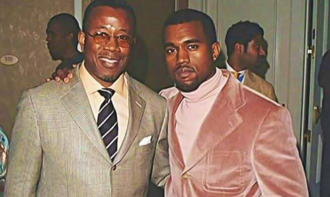 Kanye West and Ray West.