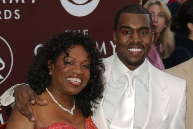 Ray West son Kanye West and ex wife Donda West.
