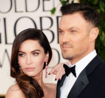 George Green son Brian Austin Green with his ex-wife Megan Fox.
