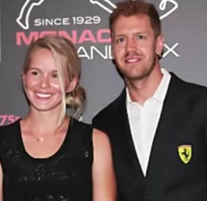 Hanna Prater with her husband in an event
