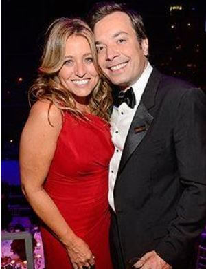 Her parents Jimmy Fallon and Nancy Juvonen