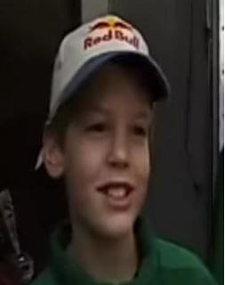 Sebastian Vettel Childhood Picture