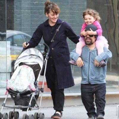 Diane Dinklage's son Peter Dinklage with his wife Erica Schmidt and kids.