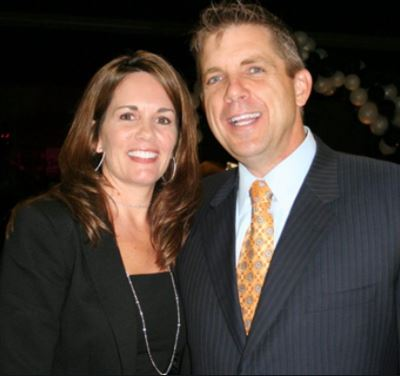 Beth Shuey and her ex-husband Sean Payton