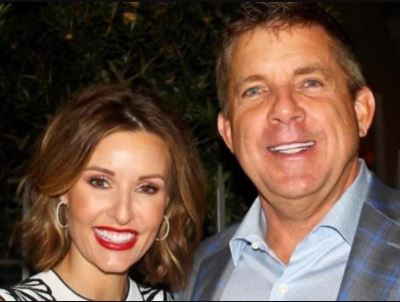 Beth Shuey's former husband Sean Payton with his current partner Skylene Montgomery