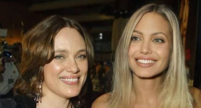 Marcheline Bertrand with her daughter Angelina Jolie.