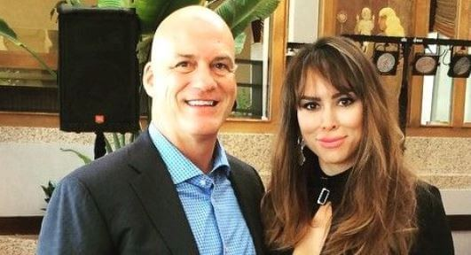 Michael J. Dodd with his ex wife Kelly Dodd.