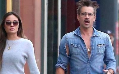 Henry Tadeusz Farrell's dad Colin Farrell with rumored wife Kelly McNamara